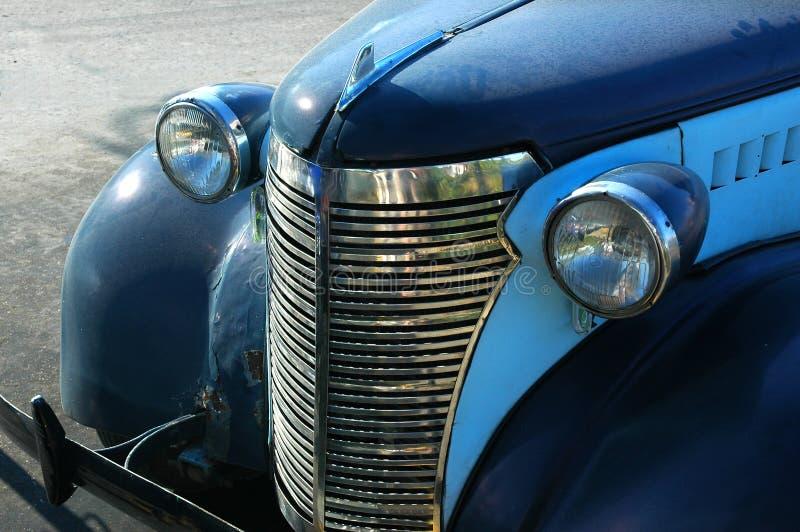 старая автомобиля голубая Стоковые Изображения