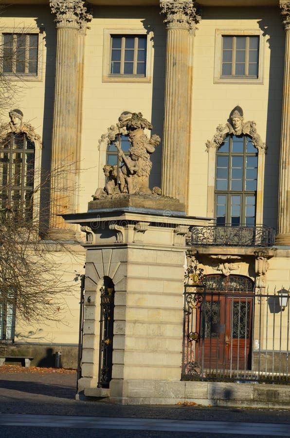 Старая архитектура в Берлине, Германии стоковая фотография rf