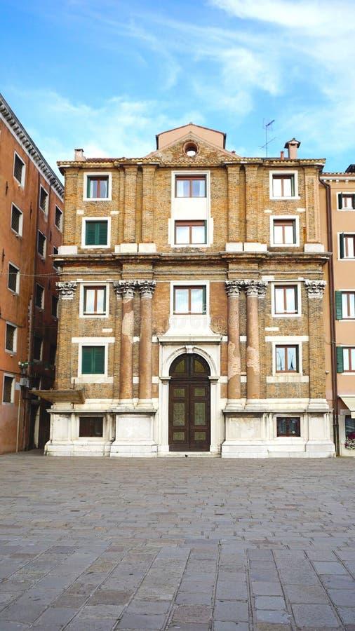 Старая архитектура в Венеции стоковые фотографии rf