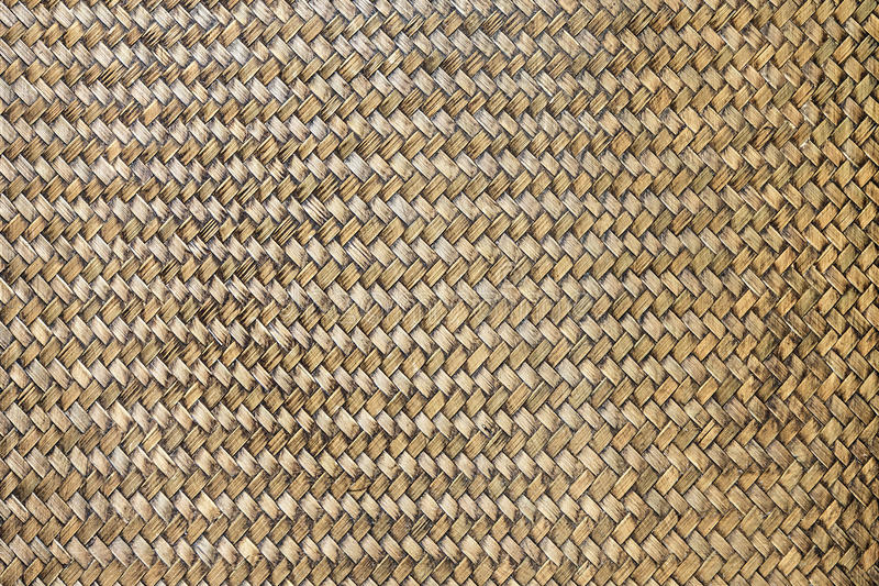 Старая бамбуковая текстура корзины Weave стоковые фотографии rf