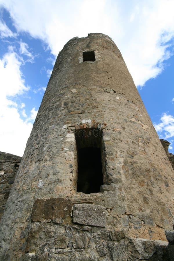 старая башня руин стоковое изображение rf