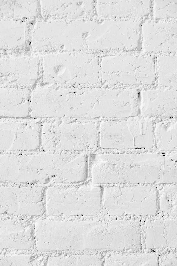 Старая белая предпосылка предпосылки текстуры кирпичной стены стоковое изображение rf