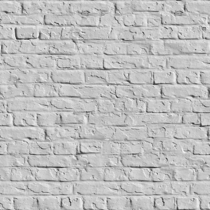 Текстура белой кирпичной стены безшовная. стоковая фотография rf