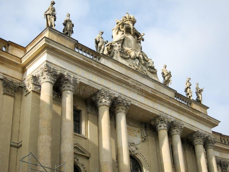 Старая библиотека - Берлин стоковые изображения rf