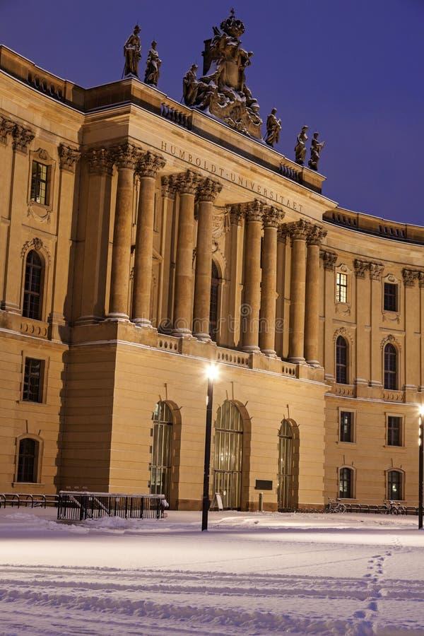 Старая библиотека в Берлине стоковое изображение