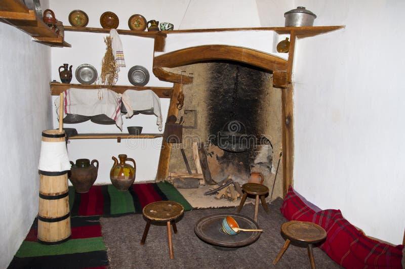 Старая болгарская комната стоковое фото rf