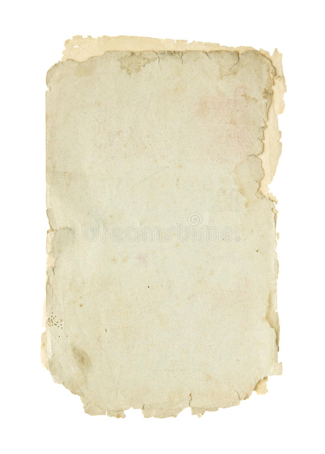 Старая бумага. стоковые изображения rf