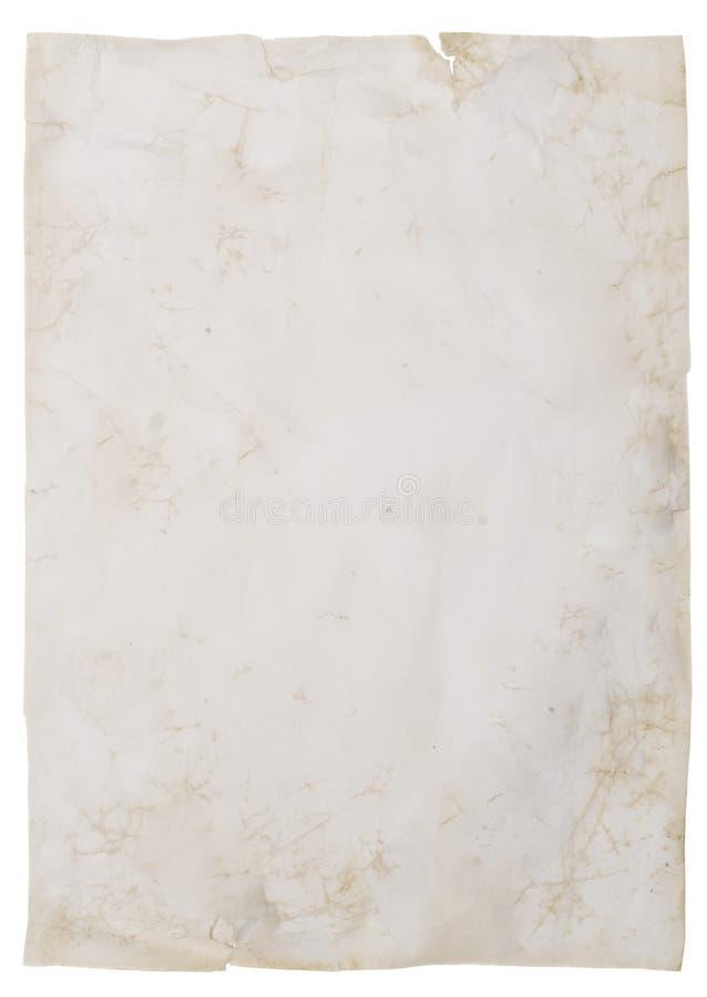 Download старая бумага стоковое изображение. изображение насчитывающей изображение - 6864985