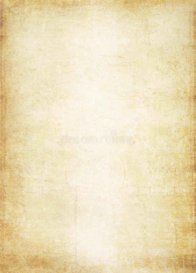 старая бумага иллюстрация штока
