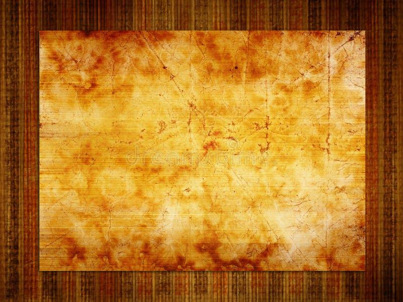 Старая бумага grunge стоковое изображение rf