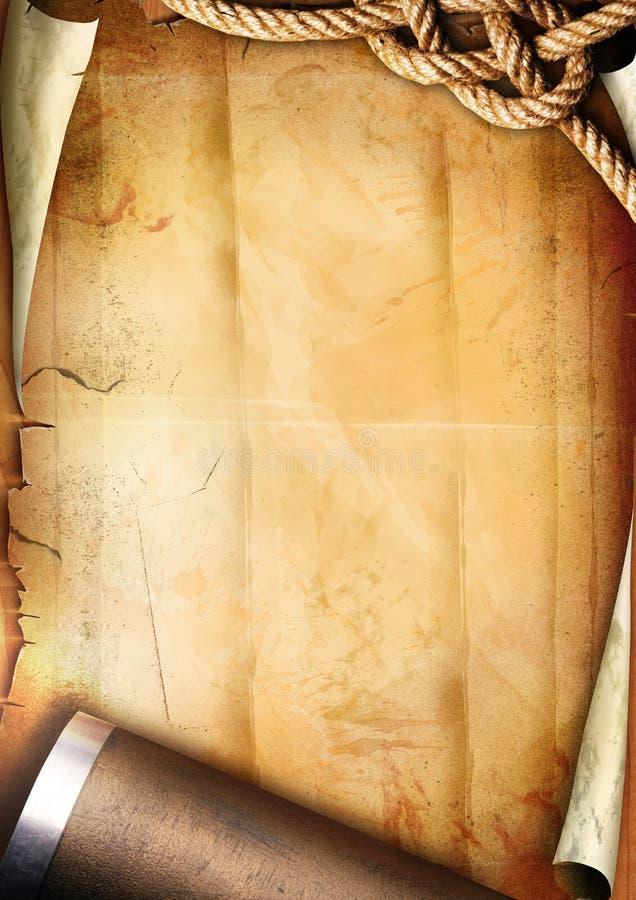 старая бумажная текстура веревочки трубы бесплатная иллюстрация