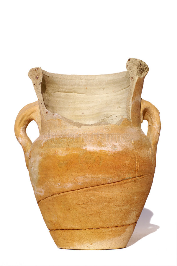 старая ваза сломленное ii стоковые фотографии rf