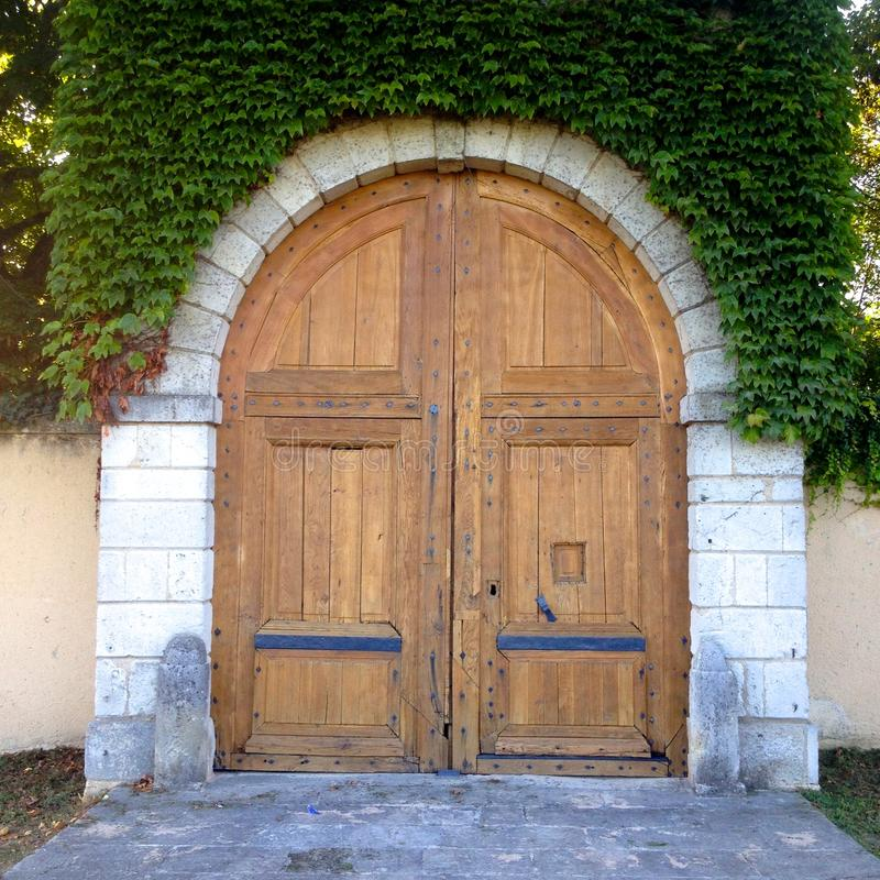 Старая дверь стоковые изображения rf