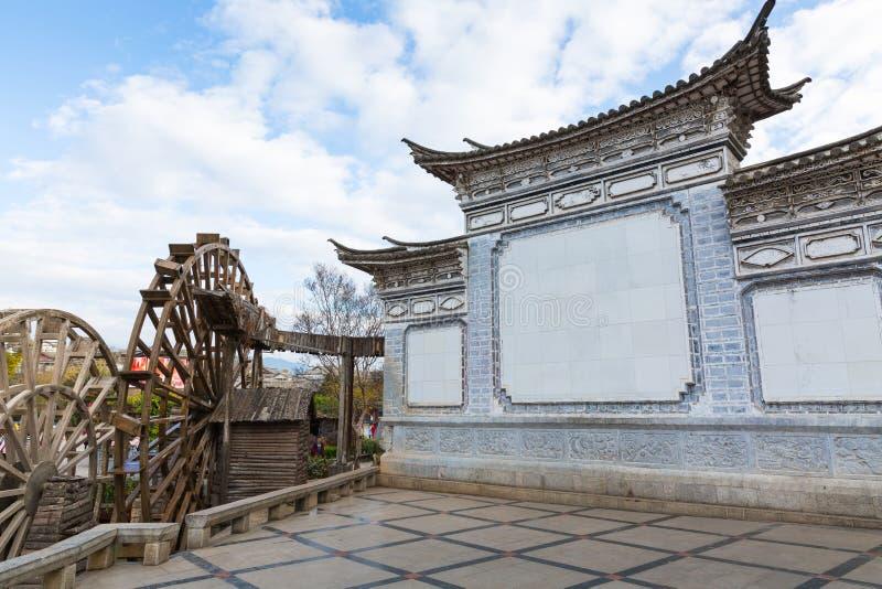 Старая Великая китайская стена стоковые фото