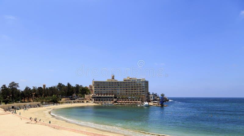 Старая гостиница в Александрии стоковые изображения