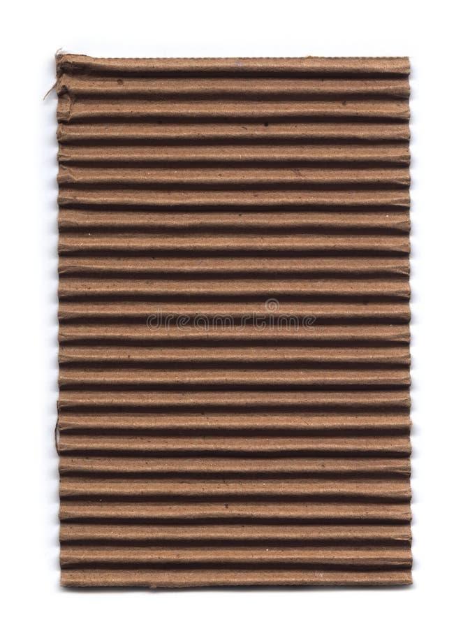 старая гофрированная картоном стоковое изображение rf