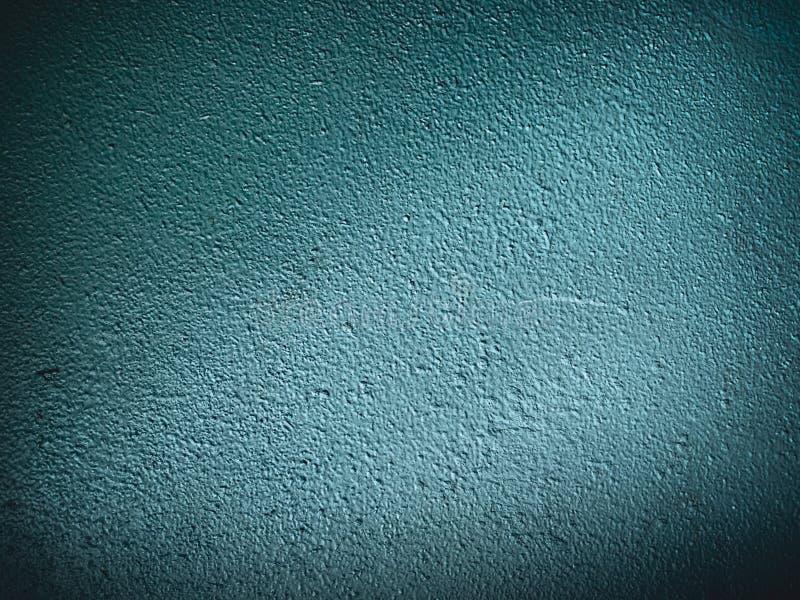Старая грубая темная - голубой - зеленая предпосылка стены стоковые изображения