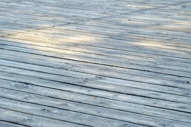 Старая деревянная картина кожи первого этажа тропы стоковое изображение rf