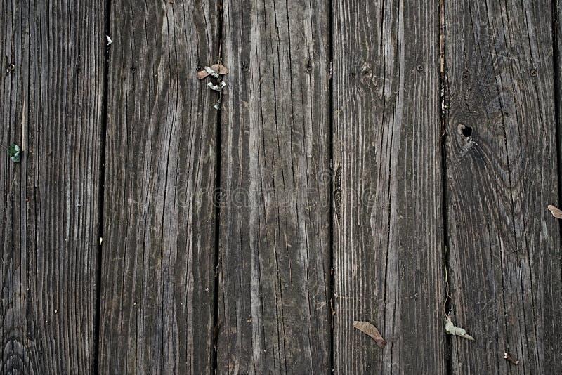 Старая деревянная предпосылка стены планки, старая темная деревянная предпосылка картины текстуры, стоковая фотография rf