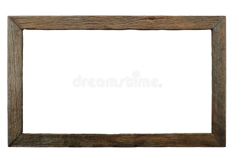 Старая деревянная рамка стоковые изображения rf