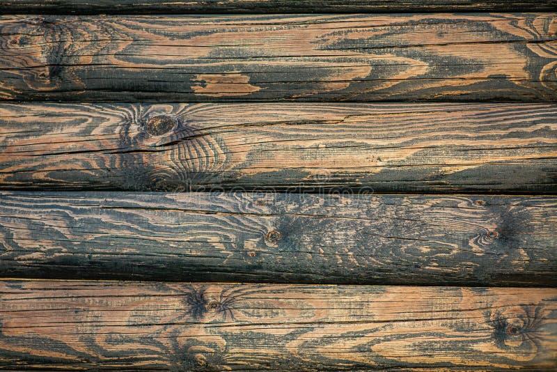 Старая деревянная текстура, цвет красивого старого дерева стоковая фотография rf