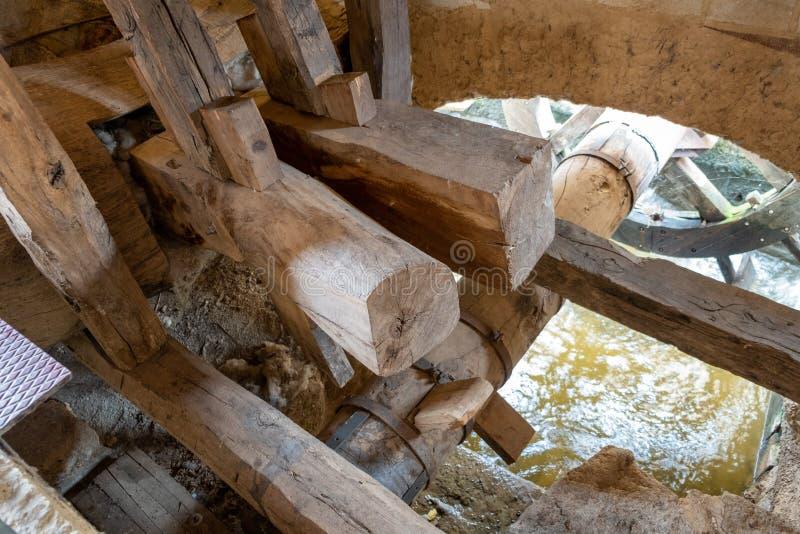 Старая деревянная техника стоковая фотография