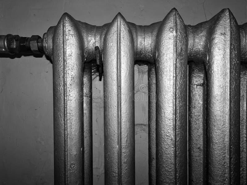 Старая деталь радиатора стоковые фотографии rf
