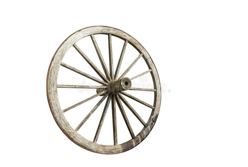 старая древесина колеса стоковое фото