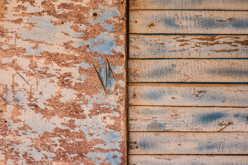 Старая деревенская деревянная стена стоковое фото rf
