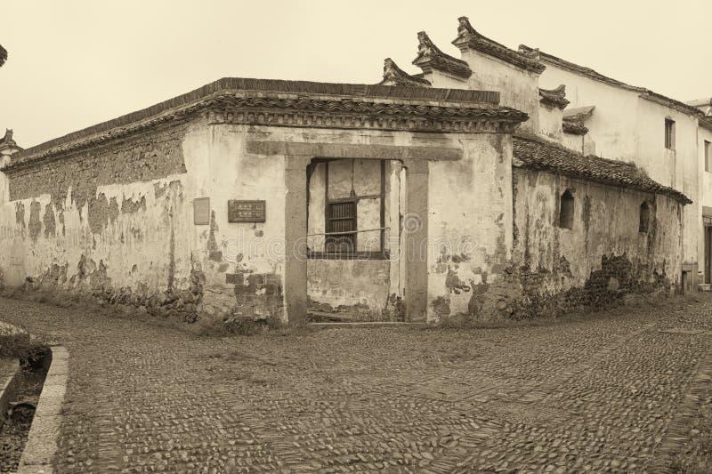 Старая деревня стоковая фотография rf