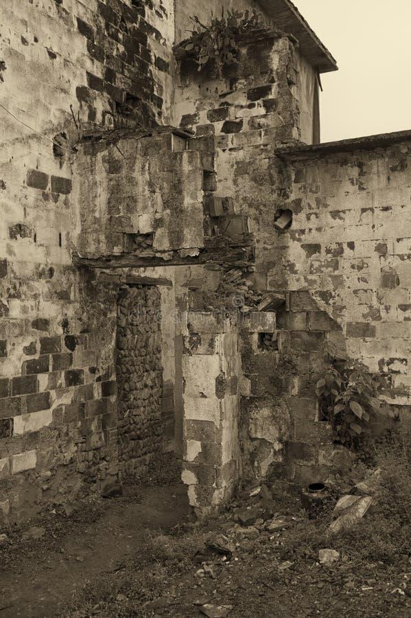 Старая деревня стоковая фотография