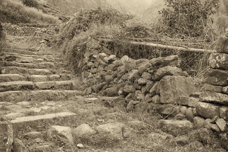 Старая деревня стоковое фото