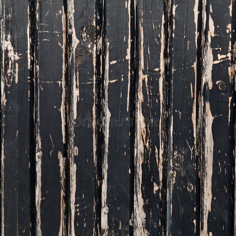 Старая деревянная чернота стоковые фотографии rf