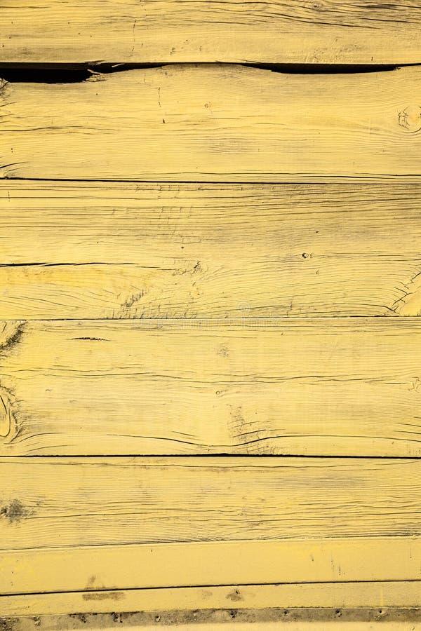старая желтая деревянная загородка стоковые изображения