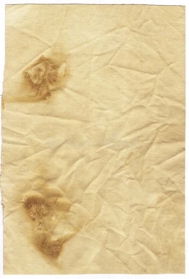 старая запятнанная бумага стоковые изображения