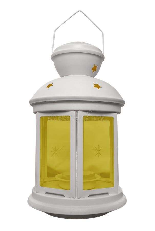Старая изолированная лампа стоковая фотография rf