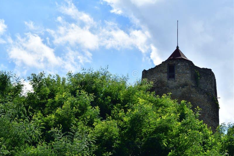 Старая историческая башня Czchow Польша стоковые изображения