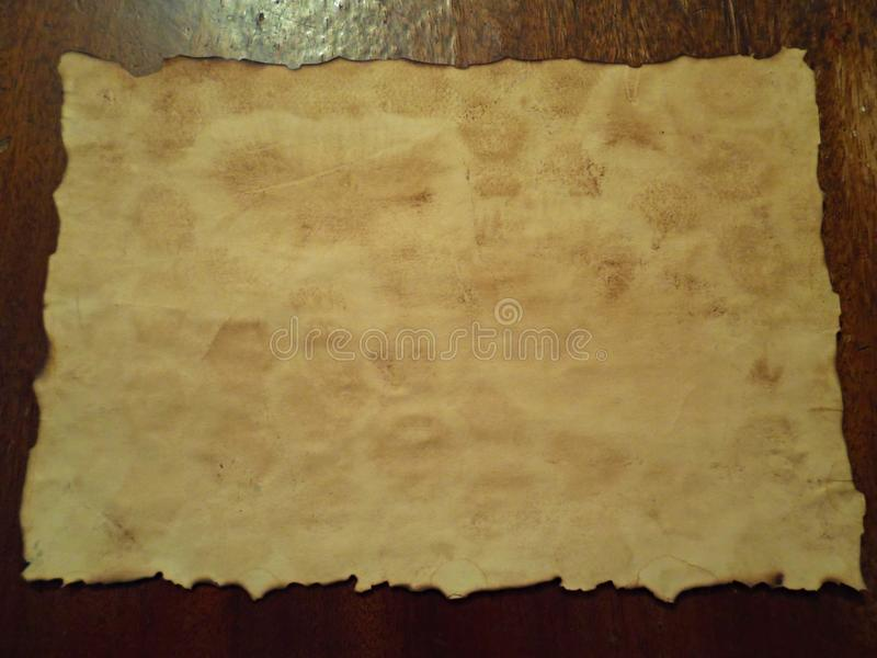 Старая и пакостная бумага стоковое фото rf