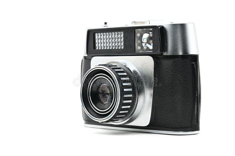 Старая камера на изолированной предпосылке Photocamera стоковые изображения