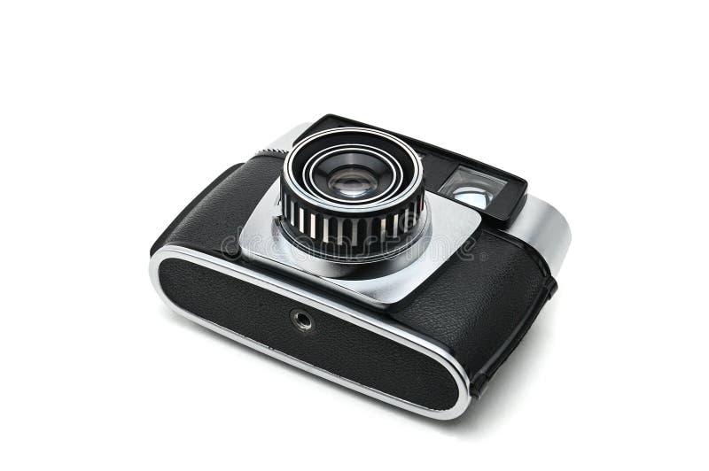 Старая камера на изолированной предпосылке Photocamera стоковое изображение