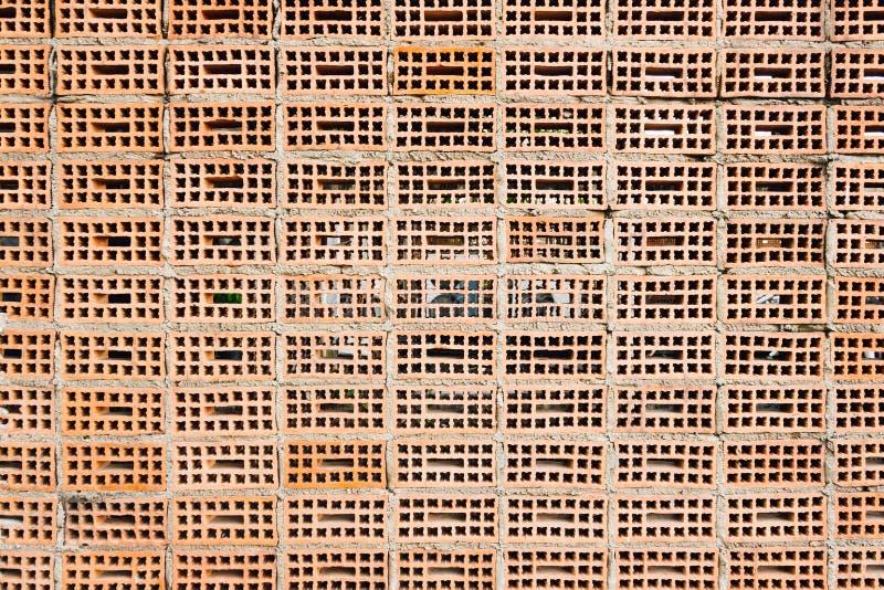 Старая кирпичная стена текстуры, предпосылка стоковые фото