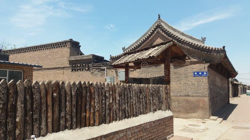 Старая китайская архитектура в Pingyao стоковые изображения