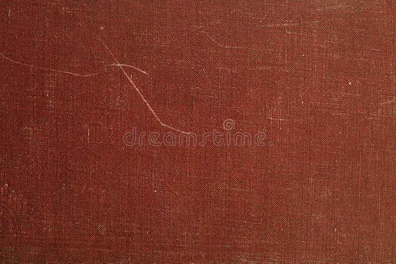 Старая книга чехла из материи стоковая фотография rf