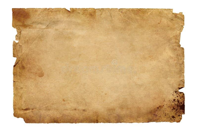 Старая коричневая бумага стоковое изображение