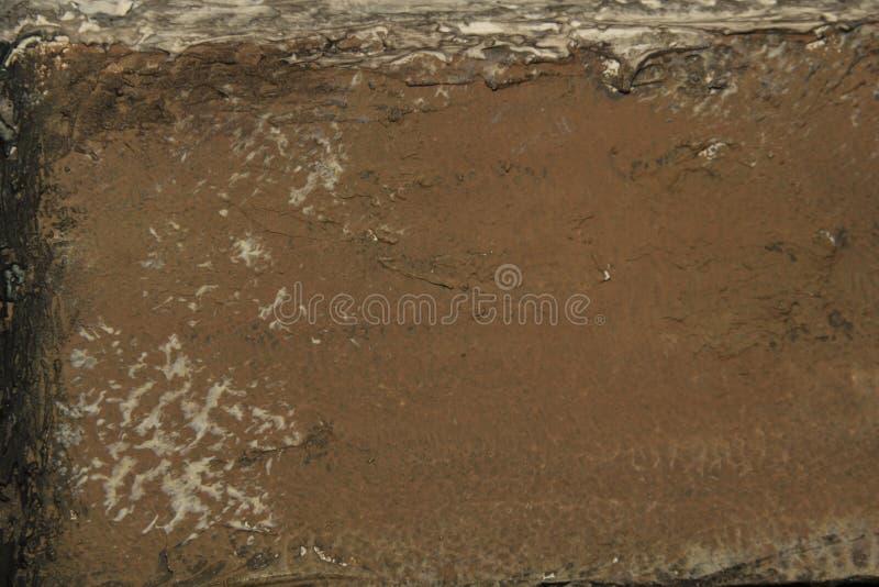 Старая коричневая стена с текстурированной картиной стоковые изображения rf