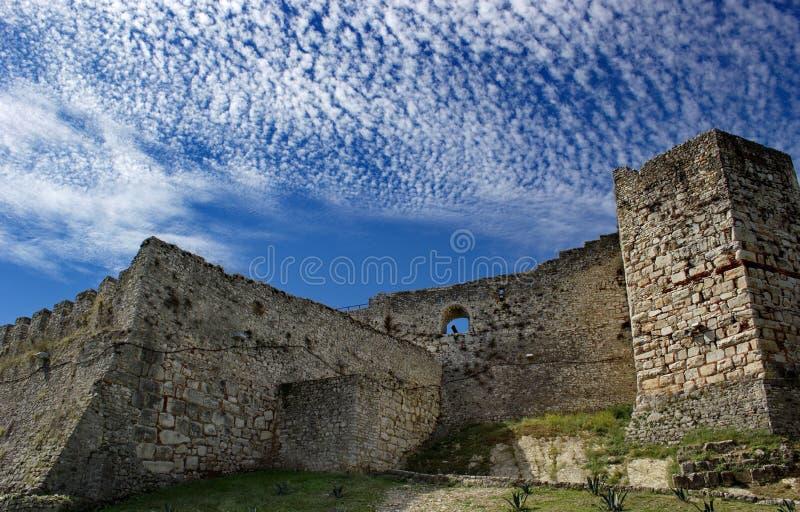 Старая крепость в Berat, Албании стоковая фотография