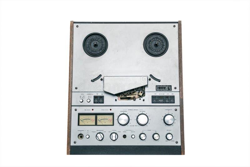 старая лента вьюрка рекордера стоковая фотография rf