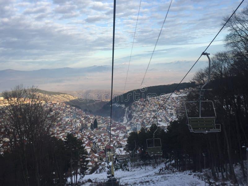 старая македония krushevo стоковое фото rf