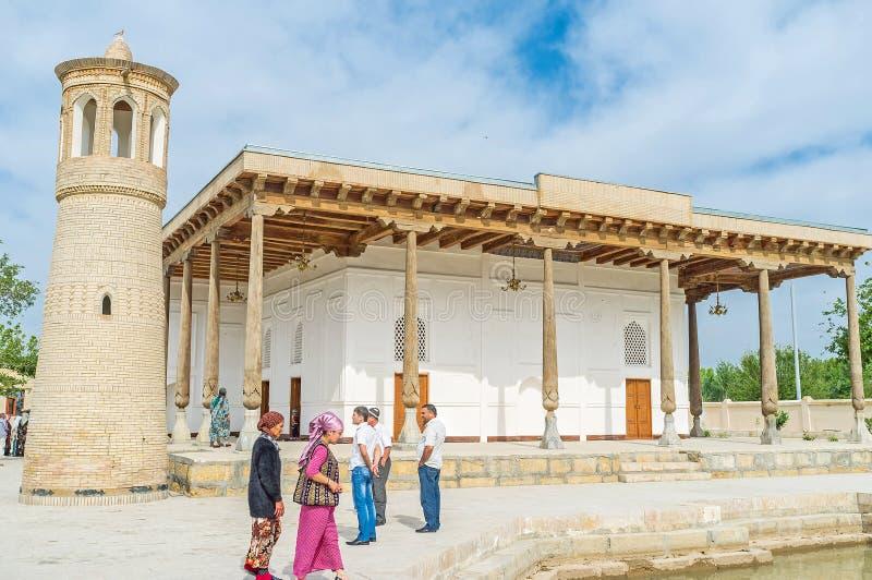 Старая мечеть в Бухаре стоковая фотография rf