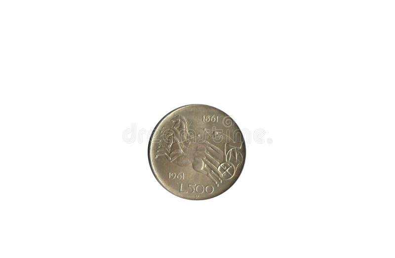 старая монетки итальянская стоковое фото rf